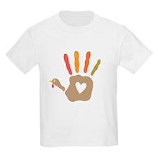 Turkey Hand Print T-Shirt