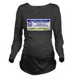 Area 51 Pass Long Sleeve Maternity T-Shirt