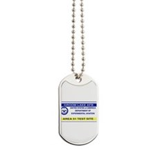 Area 51 Pass Dog Tags