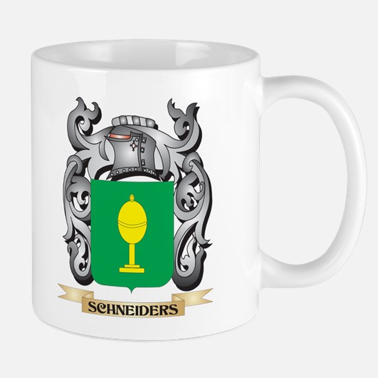 Schneiders Coat of Arms - Family Crest Mugs
