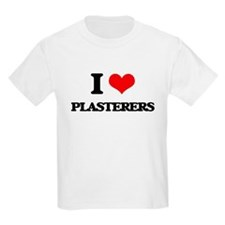 I love Plasterers T-Shirt