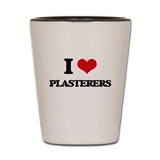 I love Plasterers Shot Glass