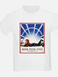 1943 Children's Book Week Kid's T-Shirt