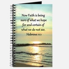 HEBREWS 11:1 Journal