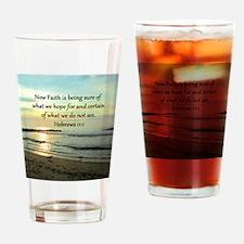 HEBREWS 11:1 Drinking Glass
