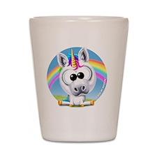 Circle of Sunshine™ Unicorn & Rainbow Shot Glass