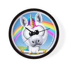 Circle of Sunshine™ Unicorn & Rainbow Wall Clock