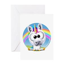 Circle of Sunshine™ Unicorn & Rainb Greeting Cards
