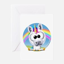 Circle of Sunshine™ Unicorn & Rainb Greeting Cards