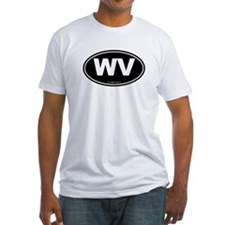 West Virginia WV Euro Oval Shirt