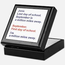 Miles of Summer Keepsake Box