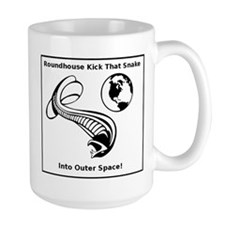 Snakes In Space! Large Mugs
