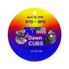 Dawn CUBS Apr. 18, 2009 - Ornament (Round)