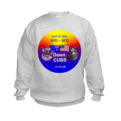 Dawn CUBS Apr. 18, 2009 - Kids Sweatshirt