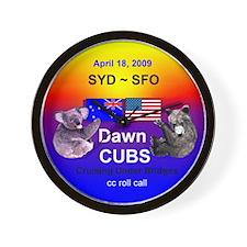 Dawn CUBS Apr. 18, 2009 - Wall Clock