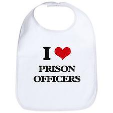 I love Prison Officers Bib