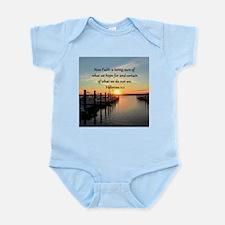 HEBREWS 11:1 Infant Bodysuit
