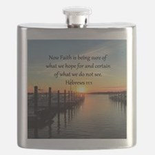HEBREWS 11:1 Flask