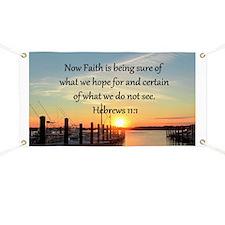 HEBREWS 11:1 Banner