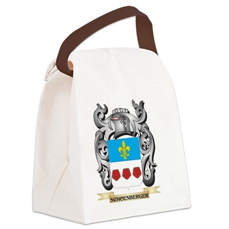 Schoenberger Coat of Arms - Famil Canvas Lunch Bag