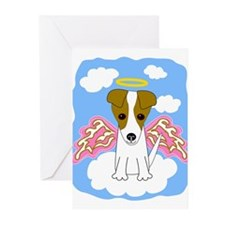 Funny Jack russel terriers Greeting Cards (Pk of 20)
