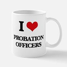I love Probation Officers Mugs