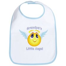 Grandpa's Little Angel Bib