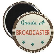 Broadcaster Vintage Magnet