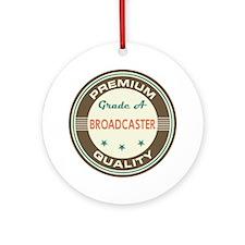 Broadcaster Vintage Ornament (Round)