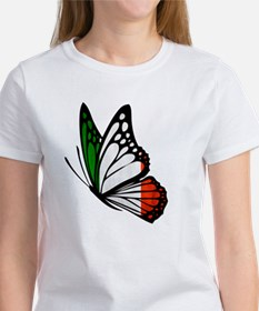 Italian Flag Butterfly Women's T-Shirt