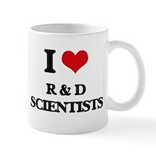 I love R & D Scientists Mugs