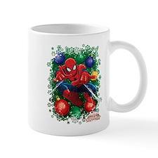 holiday spider-man Mug
