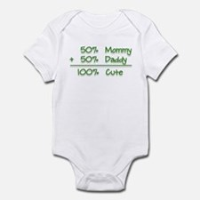 100% Cute Infant Bodysuit