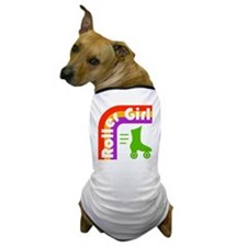Roller Girl Dog T-Shirt