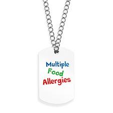 Multiple Food Allergies Dog Tags