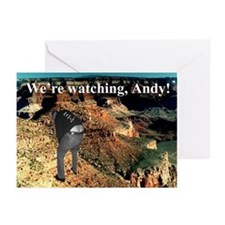 No Andy No!!! Greeting Cards (Pk of 10)
