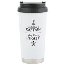 Unique Pirates Travel Mug