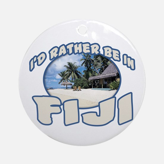 Fiji Ornament (Round)