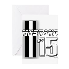 New Mustang Greeting Cards