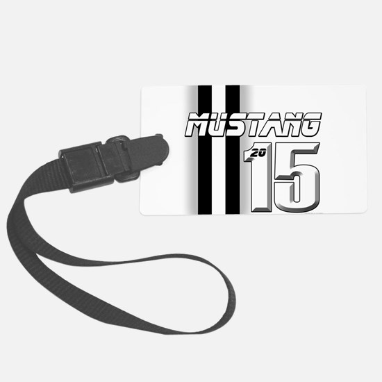 New Mustang Large Luggage Tag