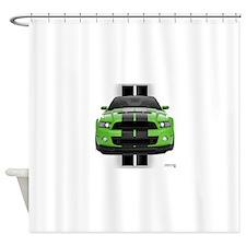 2013stanggreen.png Shower Curtain