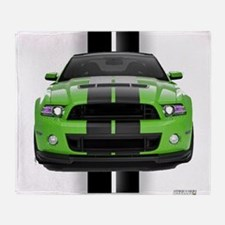 2013stanggreen.png Throw Blanket