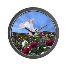 June Birthday Angel : Wall Clock