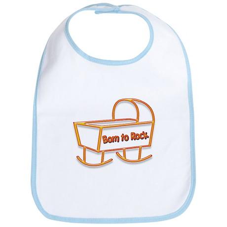 Born to Rock Bib