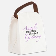 Angels are often Disguised as Grammy Canvas Lunch