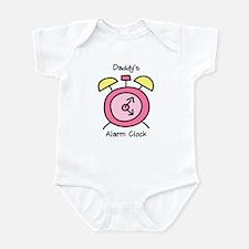 Daddy's Alarm Clock Infant Bodysuit