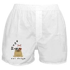 Unique Pug or pugs Boxer Shorts