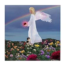 July Birthday Angel : Tile Coaster