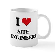 I love Site Engineers Mugs