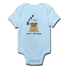 Pugs not Drugs T-Shirts Body Suit